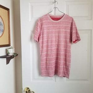 Mossimo red striped tshirt - size small